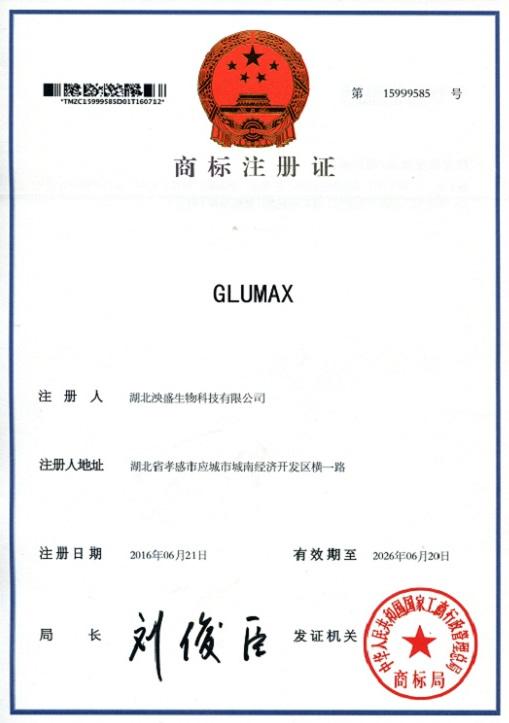 GLUMAX 第15999585号