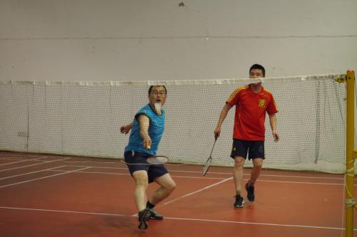 第二届羽毛球比赛